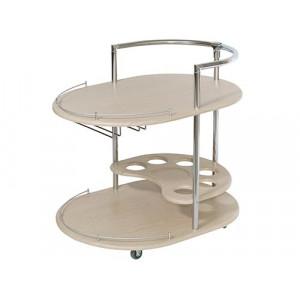 Сервировочный стол Официант (Дуб белёный)