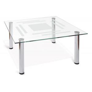 Журнальный столик Робер 8М (Металлик)