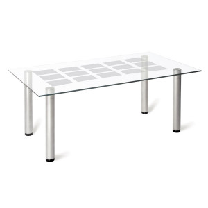 Журнальный столик Робер 11М (Металлик)