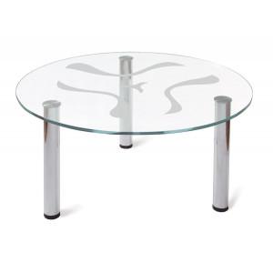 Журнальный столик Робер 6М (Металлик)