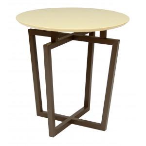 Журнальный столик Рилле 440 (Темный кофе/Бежевый)