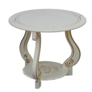 Журнальный столик Грация М (Слоновая кость)