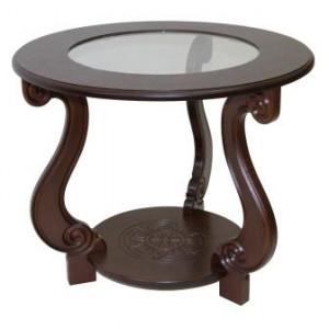Журнальный столик Грация С (Темно-коричневый)