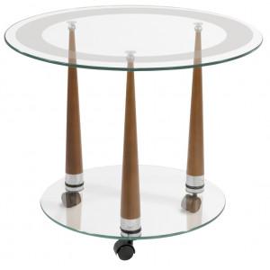 Журнальный столик Квартет 13 (Cреднекоричневый)