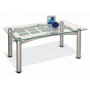 Журнальный столик Робер 3М (Металлик)