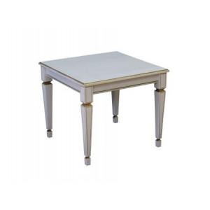 Журнальный столик В 82 (Белый ясень/Золото)