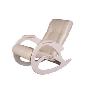 Кресло - качалка Тенария 1 (Крокодил светлый/белый ясень)