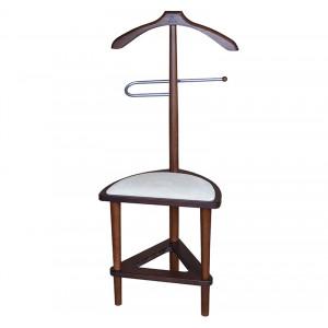 Костюмная вешалка В 26Н с сиденьем (Cредне-коричневый)