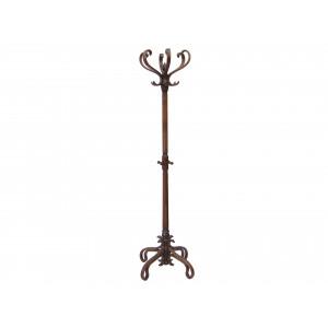 Вешалка напольная В 4Н (Темно-коричневый)