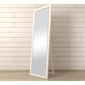 Напольное зеркало Rome белое