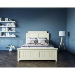 Бежевая кровать Olivia