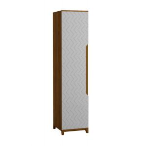Шкаф 1-створчатый универсальный Сканди Грей
