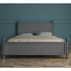 Серая кровать Palermo