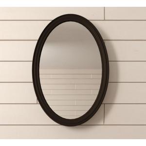Зеркало Leontina Black овальное