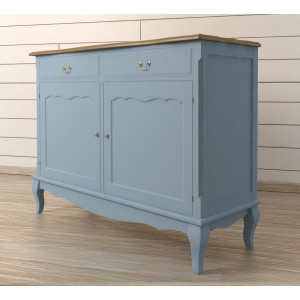 Комод Leontina Blue с ящиками
