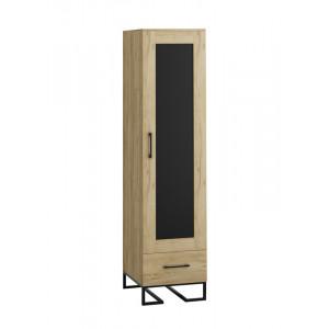 Шкаф-витрина Loft Дуб Натур