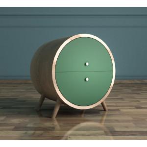 Тумба Ellipse круглая с ящиками