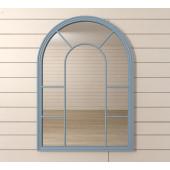 Зеркало Venezia голубое