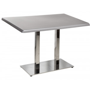 Стол Harvey 120*80 Серебро