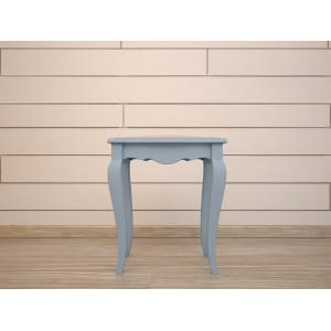 Табурет Leontina Blue с мягким сиденьем