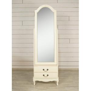 Зеркало напольное Leontina 2 ящика