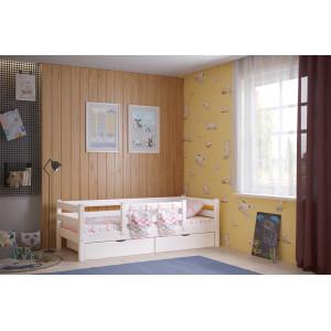 Детская кровать Соня Вариант 4 с  защитой по центру