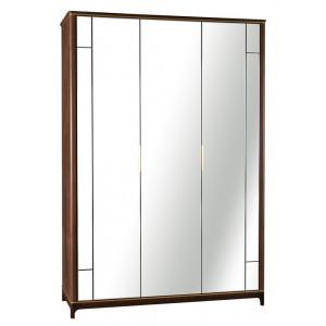 Шкаф 3-дв. с зеркалами Модерн Дуб Гладстоун