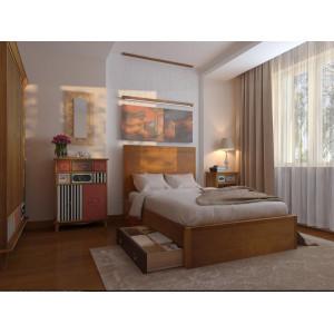 Большая спальня Gouache