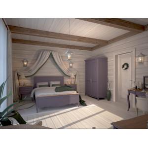 Большая спальня Leontina lavanda