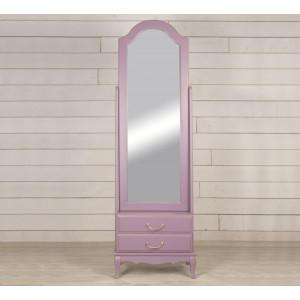 Зеркало напольное Leontina Lavanda 2 ящика
