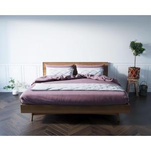 Кровать в Скандинавском стиле двуспальная Bruni