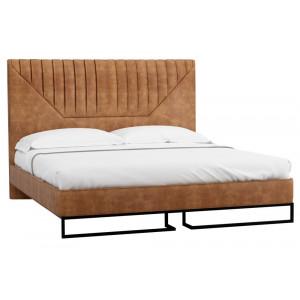 Кровать RH Loft Alberta Браун