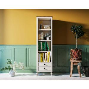 Узкий стеллаж Odri с ящиками в стиле Прованс