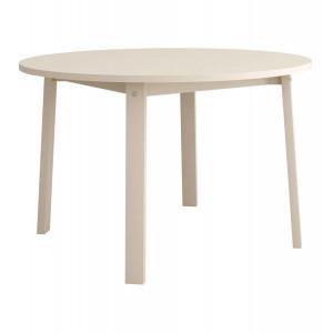 Стол обеденный Сканди Жемчужно-белый