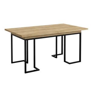 Стол раскладной обеденный Loft Дуб натур