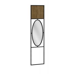 Панель для прихожей с зеркалом Loft Дуб Табак