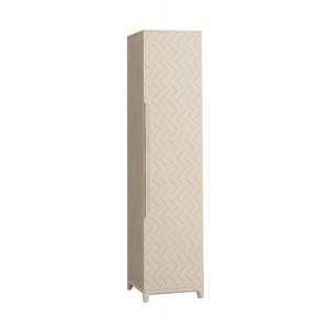 Шкаф 1-створчатый универсальный Сканди Жемчужно-белый