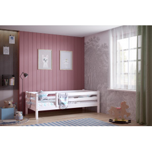 Детская кровать Соня Вариант 3 с  защитой по периметру