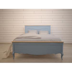 Дизайнерская кровать Leontina Blue