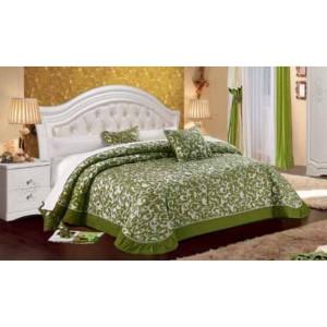 Кровать Графиня 160х200 без изножья белая КМК 0379.2