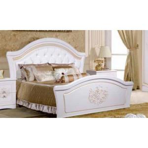 Кровать Графиня белая 160х200 с изножьем КМК 0379.10