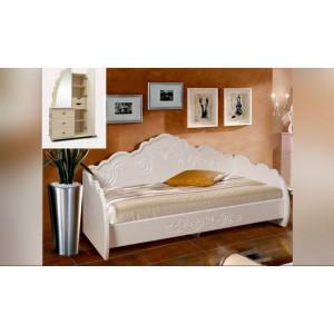 Кровать Жемчужина 90х200 Кмк 0380.9