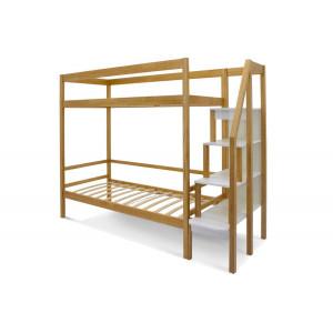 Двухъярусная кровать Svogen дерево