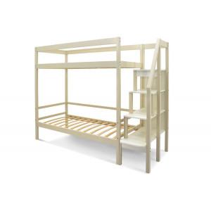 Двухъярусная кровать Svogen бежевый