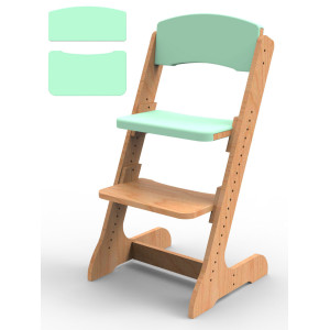 Подушки для растущего стульчика ALPIKA мятный