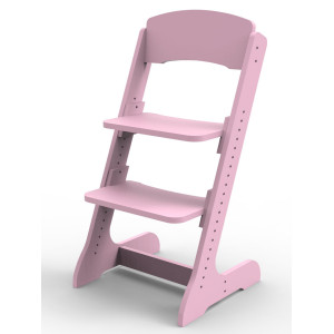 Растущий детский стульчик ALPIKA розовый