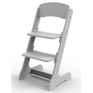 Растущий детский стульчик ALPIKA серый